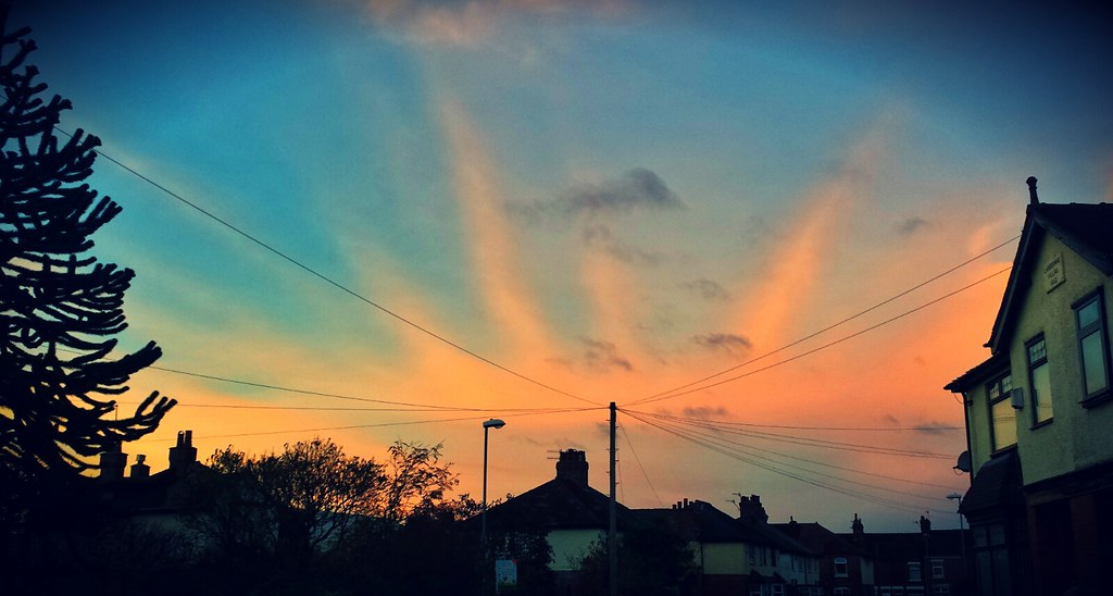 Good Morning! | Good morning. Pink and blue sky early in ...