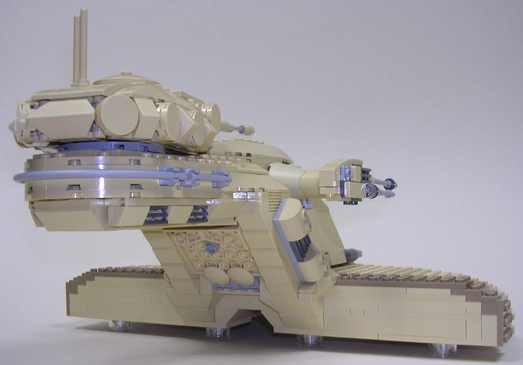 UCS AAT | This is a 1,000 part UCS AAT. Interior and