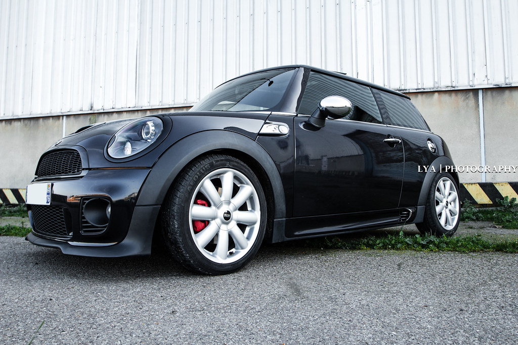 mini cooper s r56 jcw astroblack lya photography fr flickr. Black Bedroom Furniture Sets. Home Design Ideas