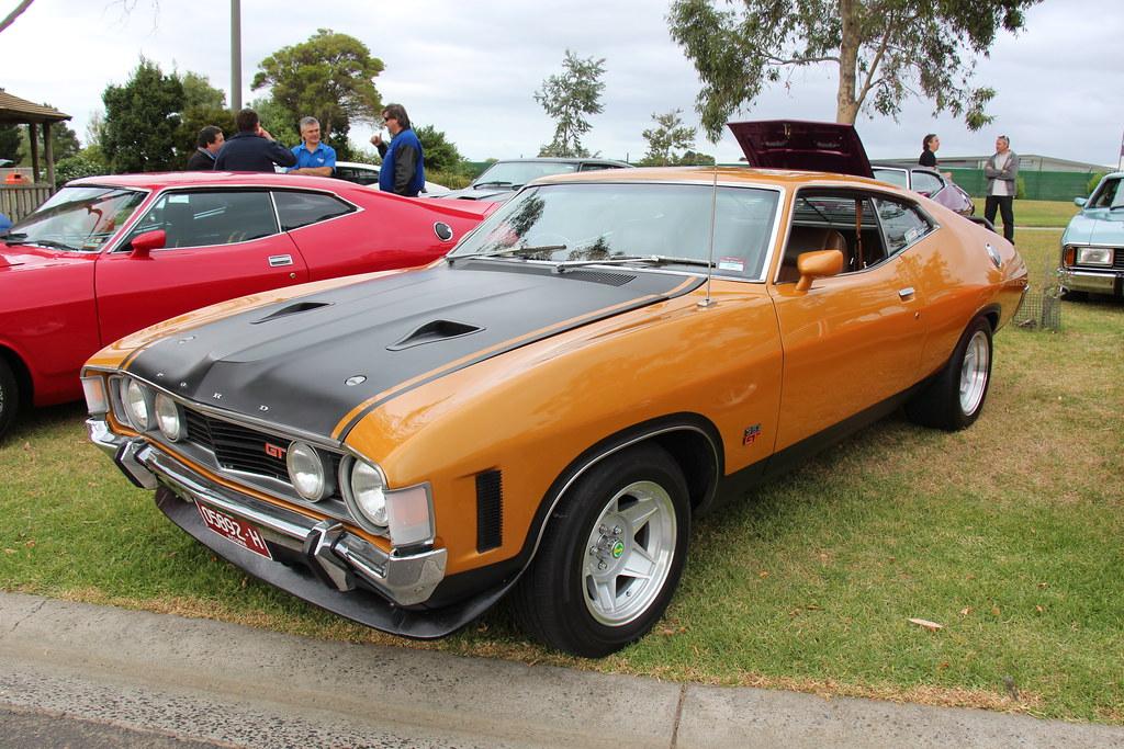 1972 Ford Xa Gt Falcon Hardtop Summer Gold The Xa