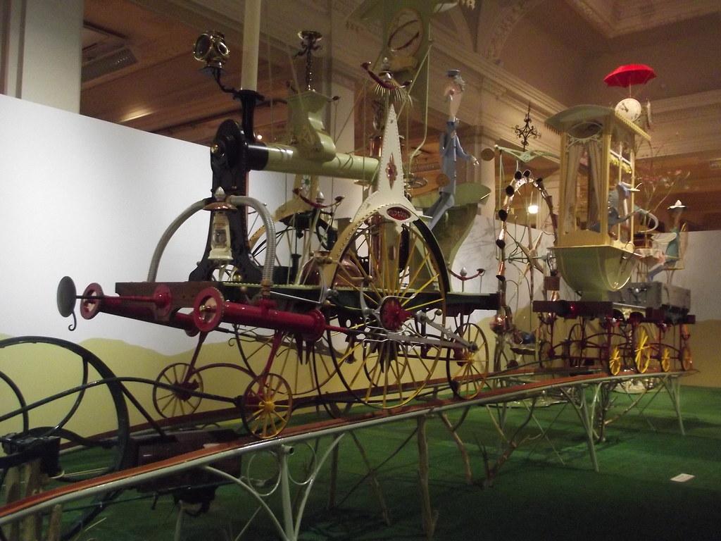 marvellous machines the wonderful world of rowland emett