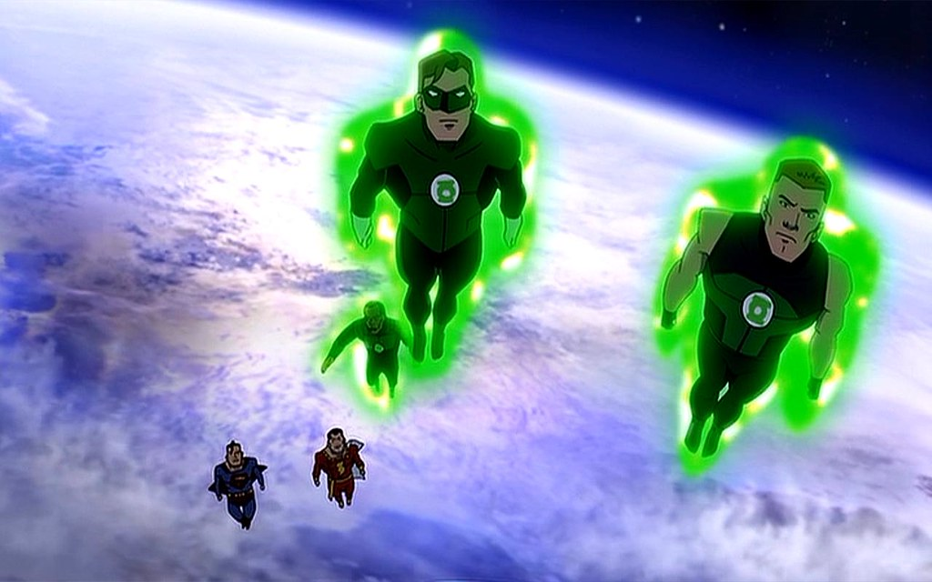 green lantern young justice