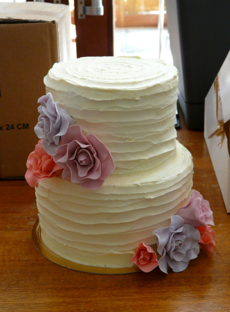 Rustic Tiered Cake Stand