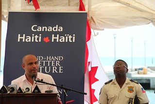06.08.13 - Discours du Premier Ministre, Laurent Lamothe | by PNUD HAITI Photostream