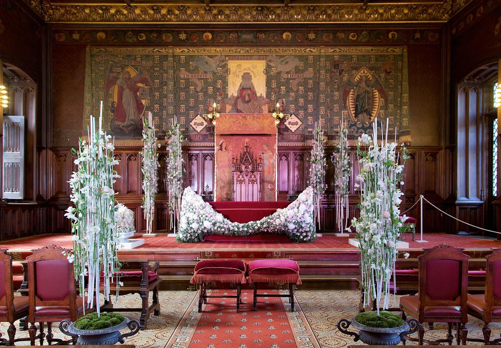 Floralientime salle des mariages hotel de ville grand p for Bruxelles piscine