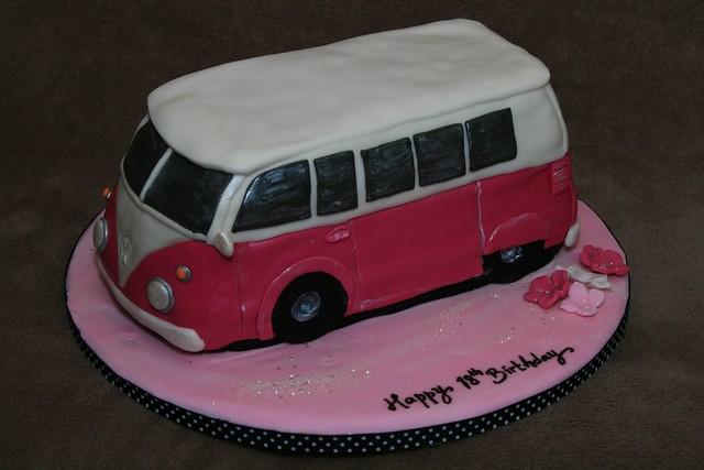 Vw Campervan Cake Decorations