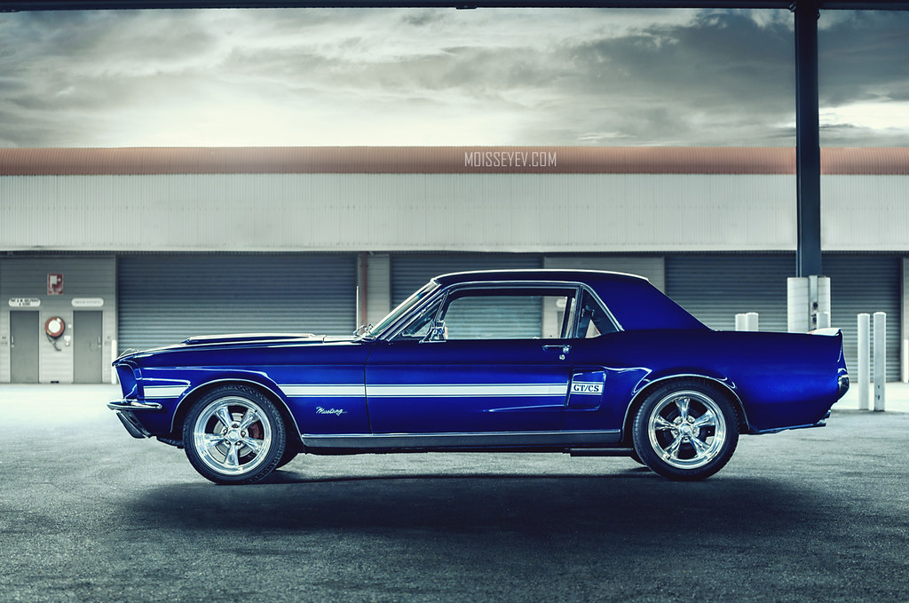 ford mustang coupe 67 dark blue andrey moisseyev flickr. Black Bedroom Furniture Sets. Home Design Ideas