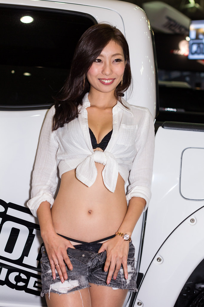 Tokyo auto salon 2014 show girl makuhari chiba japan flickr - Tokyo motor show 2014 ...