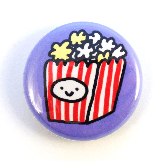 Popcorn Box Button