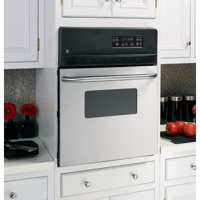 "Image result for GE JRS06SKSS 24"" Stainless Steel Electric Single Wall Oven flickr"