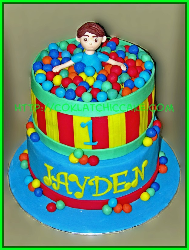 Cake Mandi bola