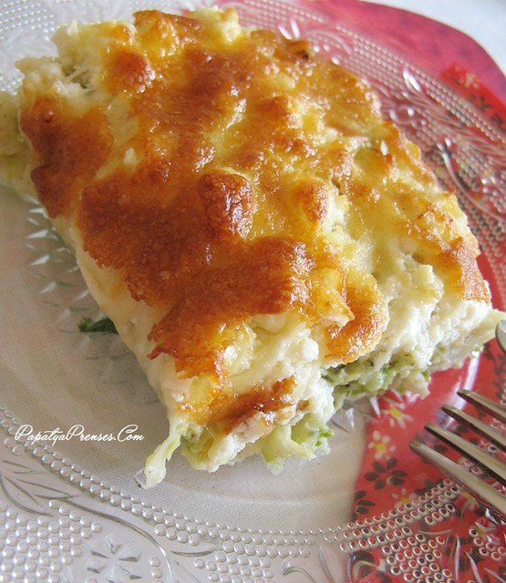 kabaklı börek graten -