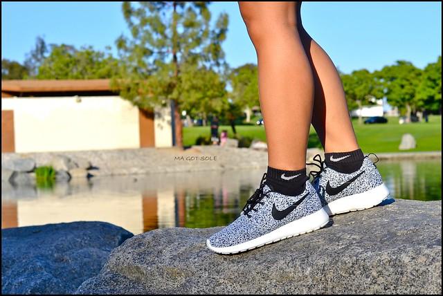 Black Roshe Run Shoe Laces