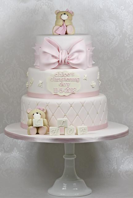 Images Of Christening Cake : Teddies Christening Cake Flickr - Photo Sharing!