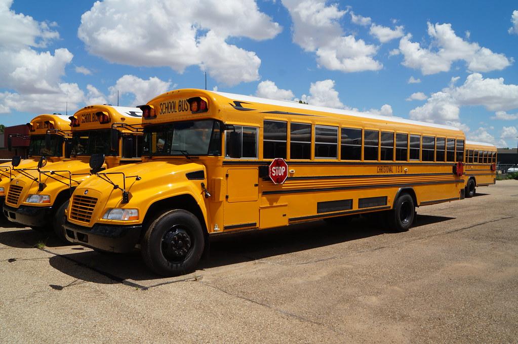 Blue Bird Bus >> Christoval ISD Blue Bird Vision School Bus | A new Blue ...