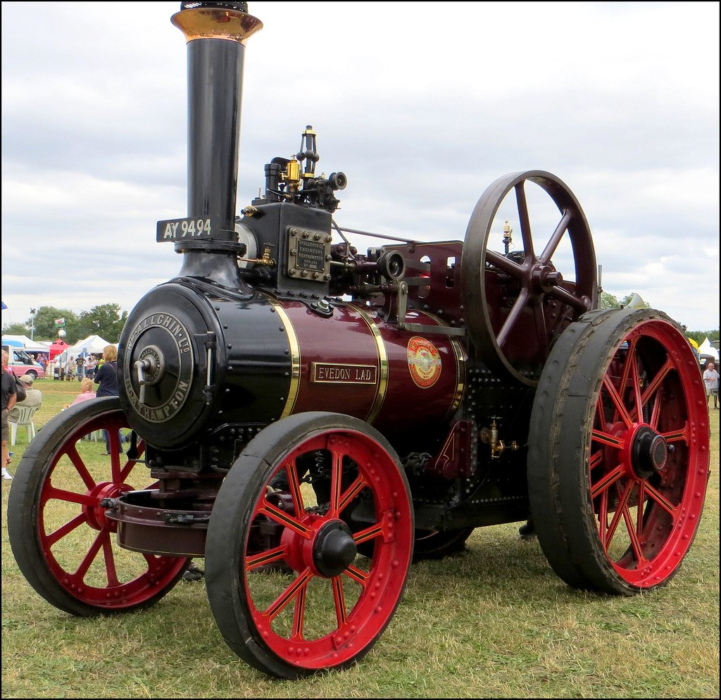 Evedon Lad 1910 Allchin 7 Nhp Agricultural Traction