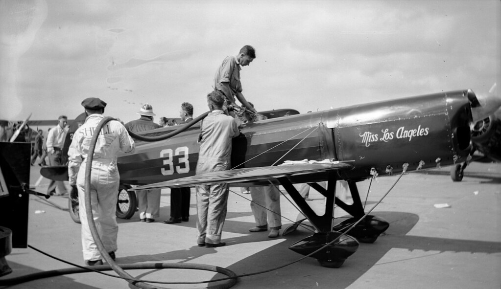 1937 Cleveland Air Race Miss Los Angeles Please See