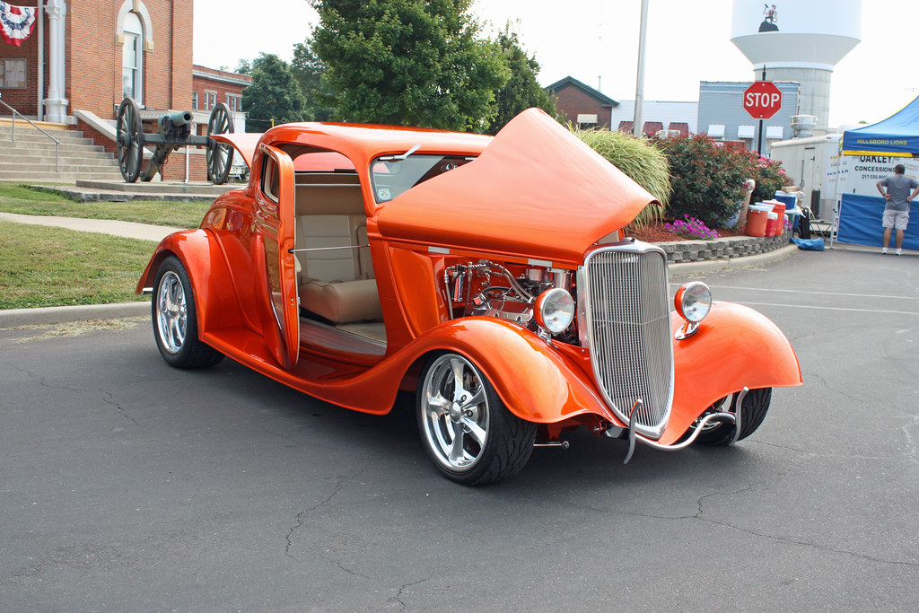 1934 ford 3 window coupe kit street rod 1 of 7