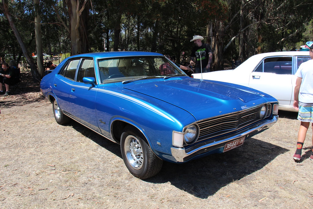 1972 Ford Xa Fairmont Gs Sedan Cosmic Blue The Xa