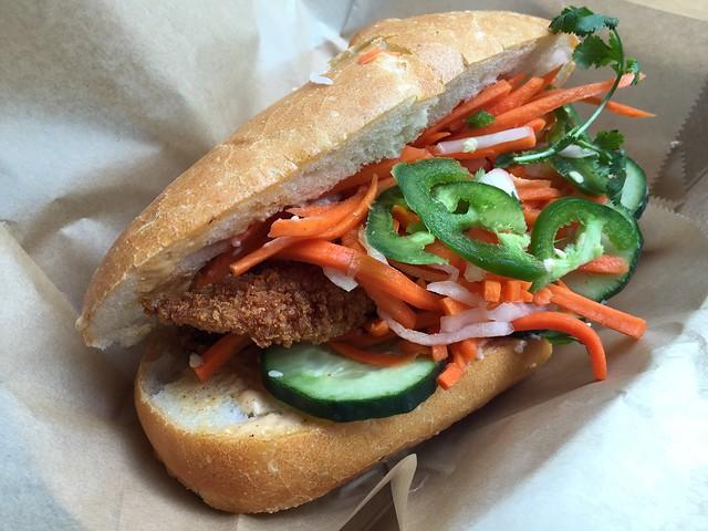 Hanoi-style crispy catfish - Bun Mee