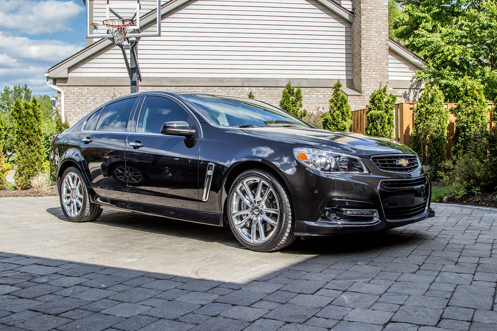 Chevy Ss Paint Correction Detail Black