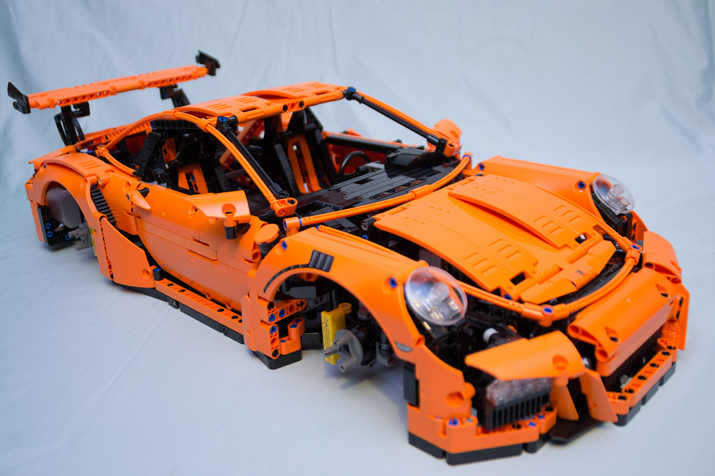 42056 lego technic porsche 911 gt3 rs box 4 finished. Black Bedroom Furniture Sets. Home Design Ideas