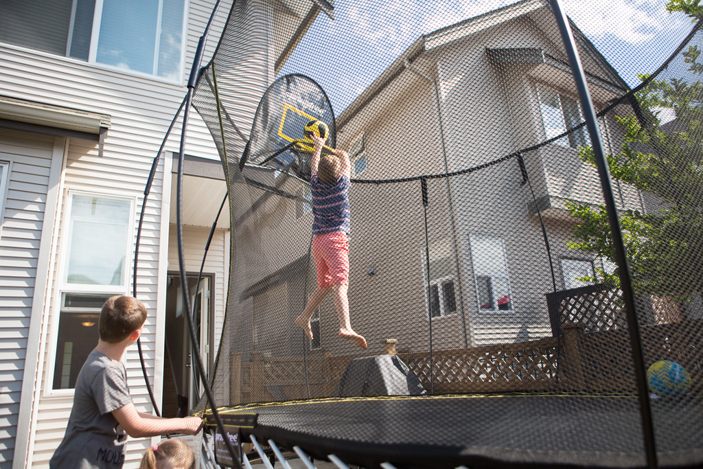 This Trampoline Is A Huge Investment (in My Opinion) As It Is Quite Pricey.  But, Iu0027m Willing To Pay For Safety And Durability.