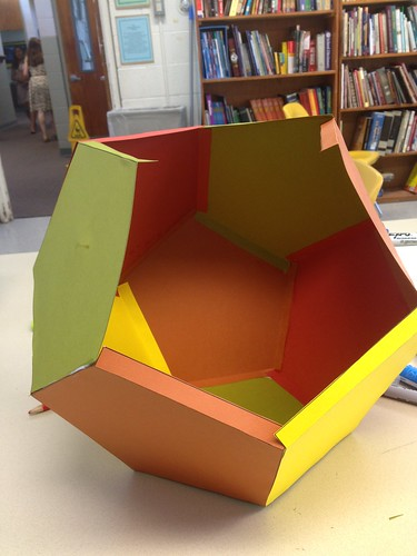 Dodecahedron in progress