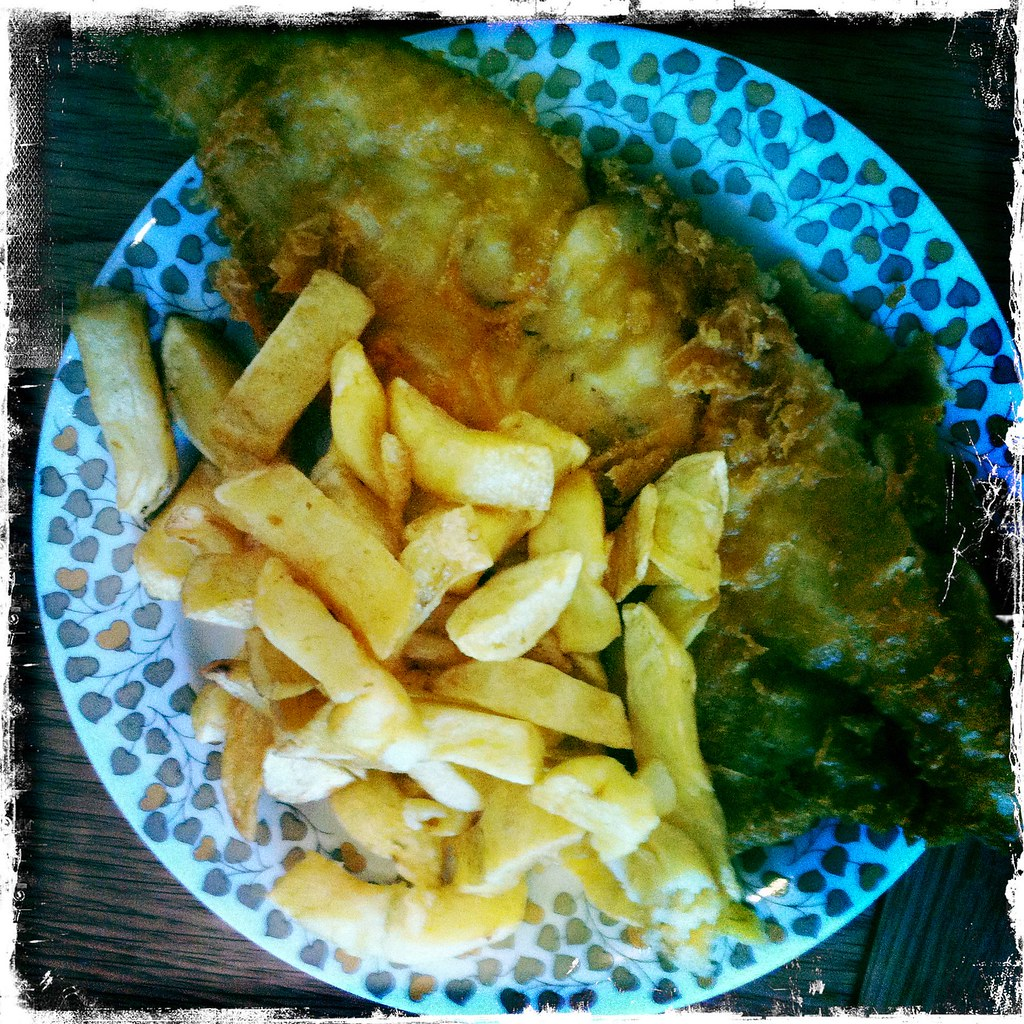 fish chips i always like the idea of having fish and chi flickr. Black Bedroom Furniture Sets. Home Design Ideas