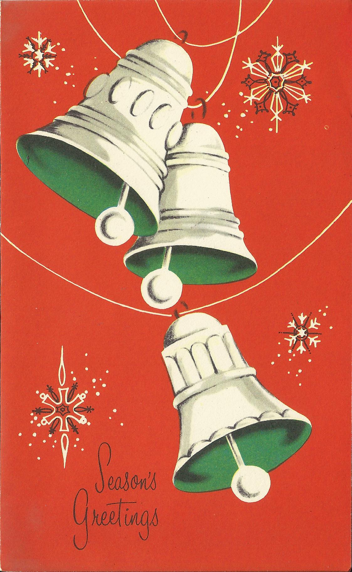 'Season's Greetings' Christmas card - 1959