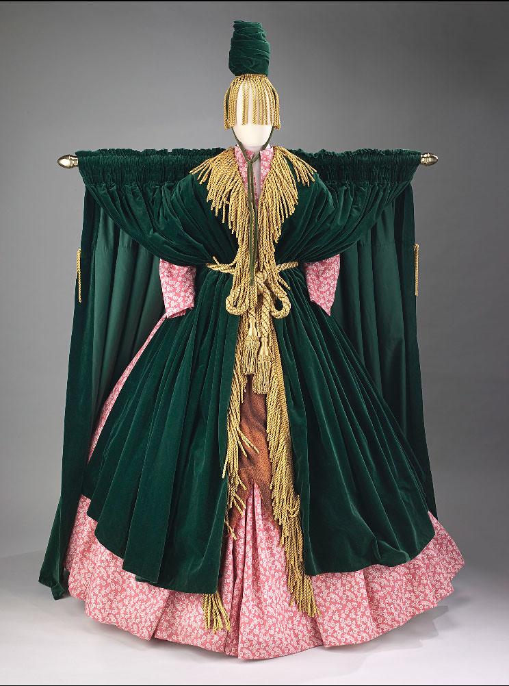 Carol Burnett S Quot Went With The Wind Quot Sketch Costume Desig
