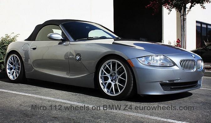 19 Quot Miro 112 Wheels On Bmw Z4 Eurowheels Com T 602 69