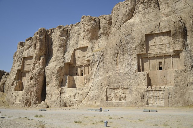 Tumbas aqueménidas de Naqsh-e Rostam (Irán)