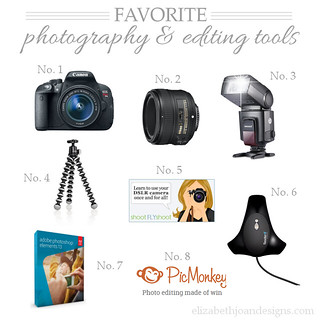 Favorite Photography and EditingTools