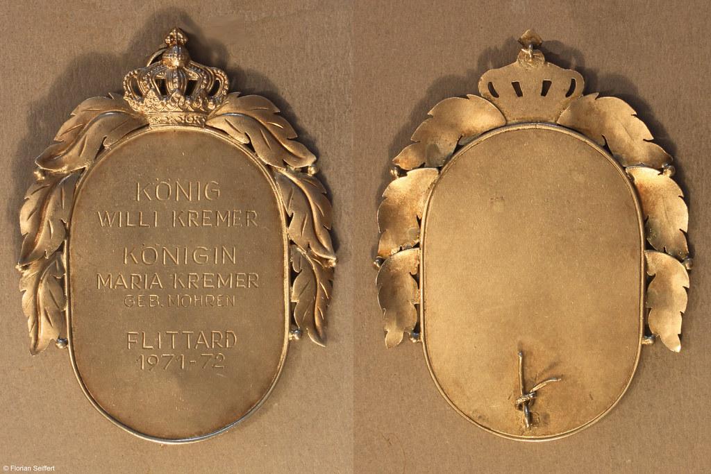 Koenigsschild Flittard von kremer willi aus dem Jahr 1971