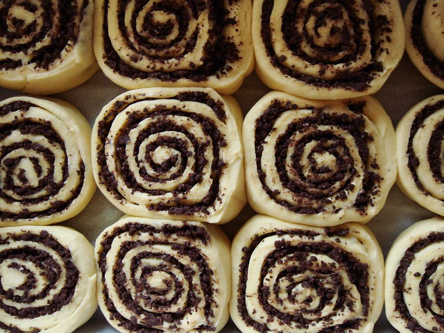 Chocolate Swirl Buns: Proofed | Flickr - Photo Sharing!