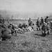 1914-18 Mặt trận sông Marne. Binh lính An Nam vui đùa trong một trại binh