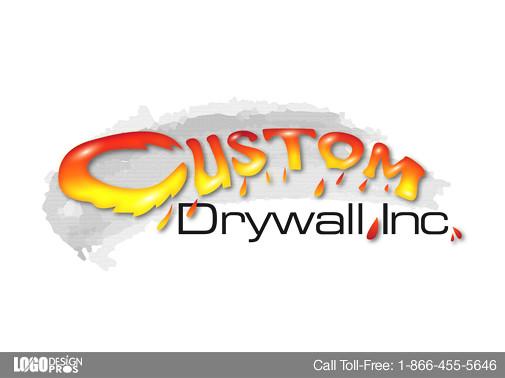 Custom Drywall Logo by Logo Design Pros : Custom Drywallu2019s t ...