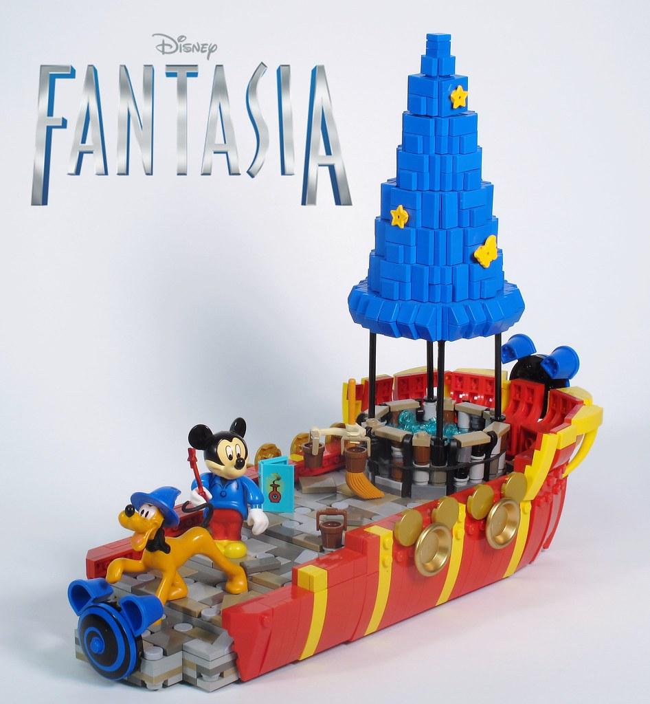 Lego Disney Mickey Mouse Fantasia Float Disney S