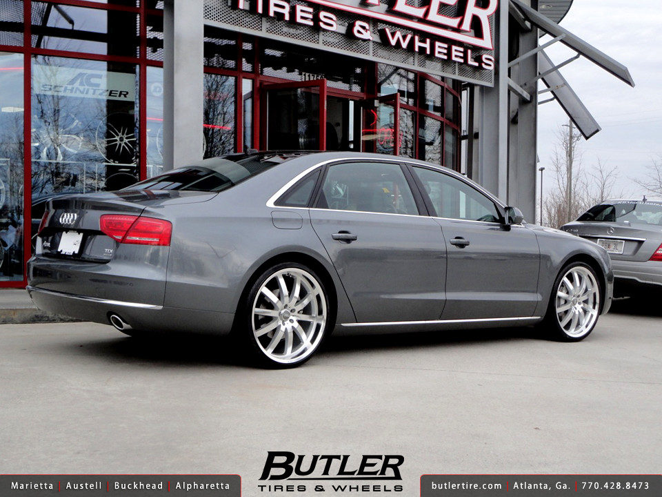 Audi A8l With 22in Mandrus Wilhelm Wheels Additional