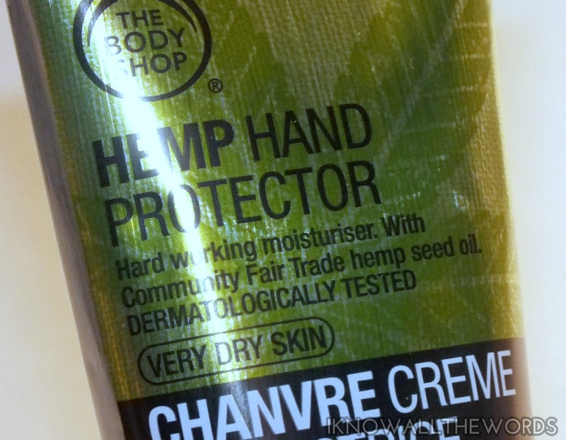 The Body Shop Hemp Hand Protector (7)