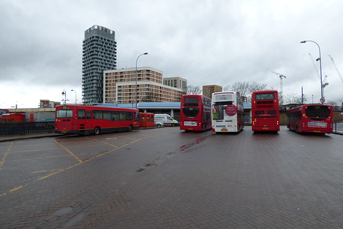 Lewisham Bus Station's final day 006
