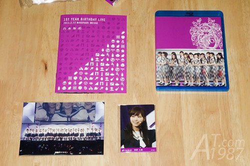 Nogizaka46 1ST YEAR BIRTHDAY LIVE 2013.2.22 MAKUHARI MESSE BD Limited Edition