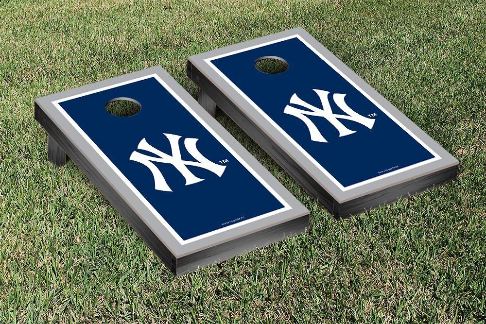 New York Yankees Border Version Cornhole Board