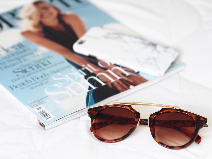 Coconut Lane, marble phone case, leopard sunglasses