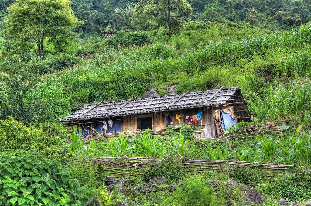 Casa local en Sapa