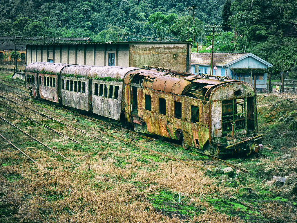 railway history slowly rotting away an old british
