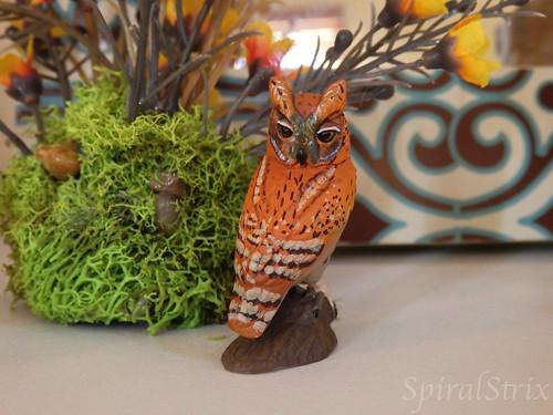 kaiyodo screech owl