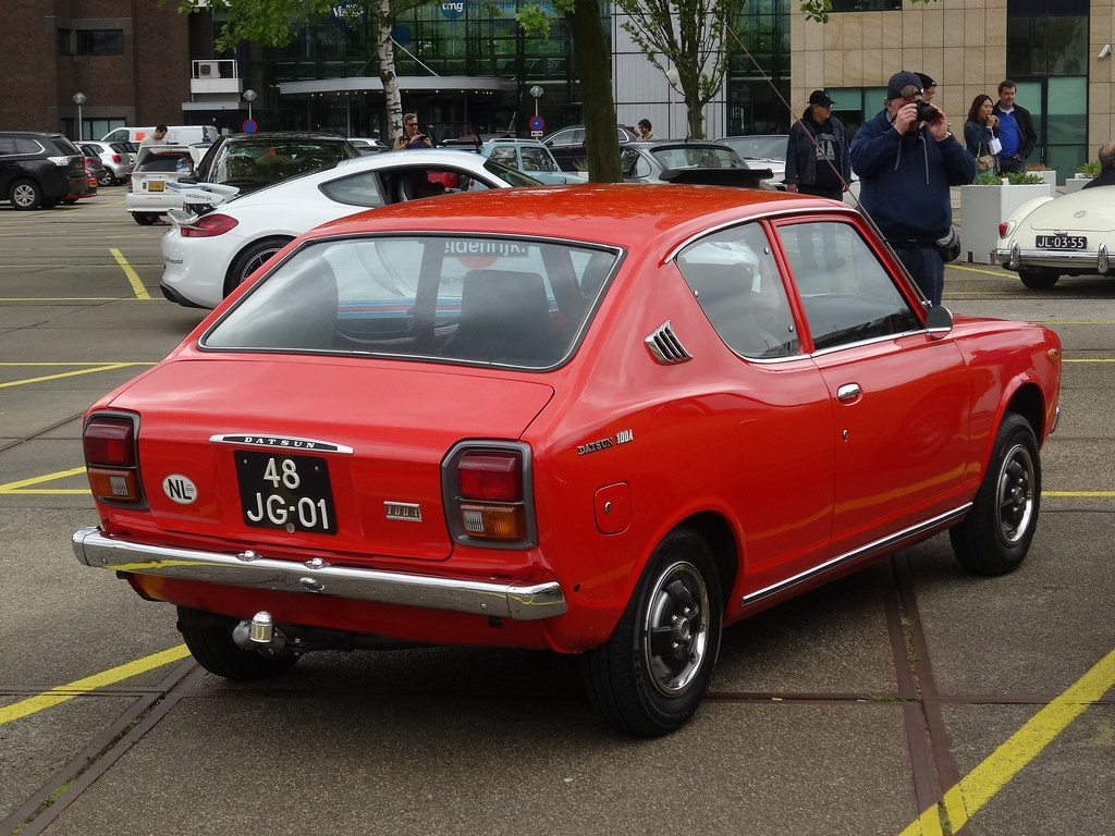 1976 Datsun 100a Cherry The Cherry Was The Car That