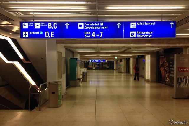 Airport. Frankfurt am Main. Germany
